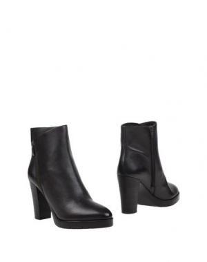 Полусапоги и высокие ботинки BRUNO PREMI. Цвет: темно-коричневый