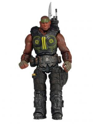 Фигурка Gears of War 3 3/4 Series 2 - Augustus Cole /5шт (10702030/170713/0049928/1, КИТАЙ) Neca. Цвет: серый