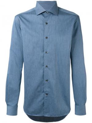 Classic shirt Corneliani. Цвет: синий