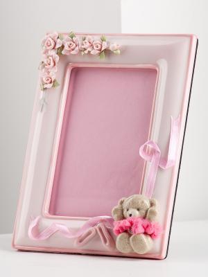 Фоторамка Балерина Pavone. Цвет: розовый