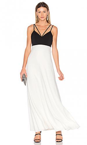 Two tone gown JILL STUART. Цвет: black & white