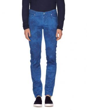 Джинсовые брюки ROŸ ROGER'S. Цвет: грифельно-синий