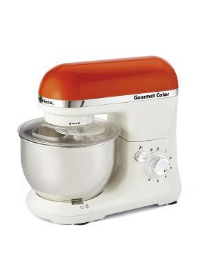 Кухонная машина 1594 GOURMET RAINBOW, 650 Вт ariete. Цвет: оранжевый