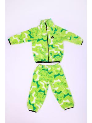 Комплект одежды ЛисФлис. Цвет: салатовый