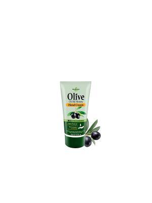 Герболив мини крем для рук с экстрактом натурального меда, 30мл Madis S.A.. Цвет: оливковый