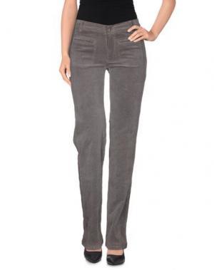 Повседневные брюки VINTAGE 55. Цвет: серый