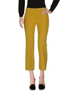Повседневные брюки 1-ONE. Цвет: зеленый-милитари