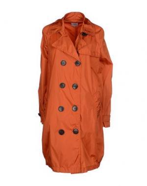 Легкое пальто LEMPELIUS. Цвет: ржаво-коричневый