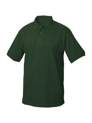 Texas Bull футболка-поло Clique. Цвет: темно-зеленый