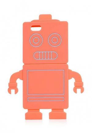 Чехол для iPhone Topshop. Цвет: коралловый