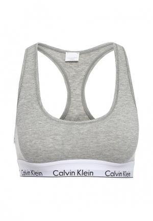Бюстгальтер Calvin Klein Underwear. Цвет: серый
