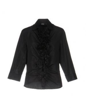 Pубашка GOSSIP. Цвет: черный