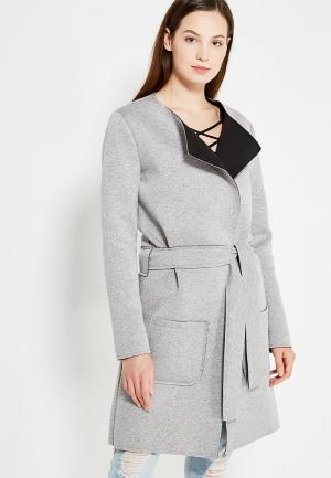 Пальто Peperuna. Цвет: серый