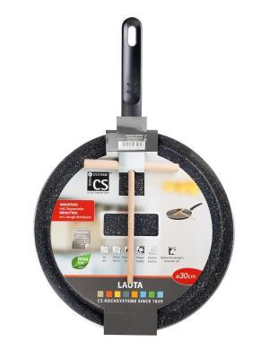 Сковорода блинная LAUTA с антипригарным покрытием, D30 Koch Systeme. Цвет: черный