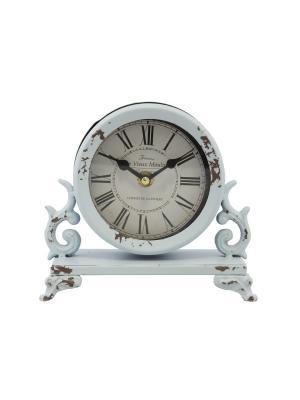 Часы  будильник 14,5* 6см. PATRICIA. Цвет: голубой