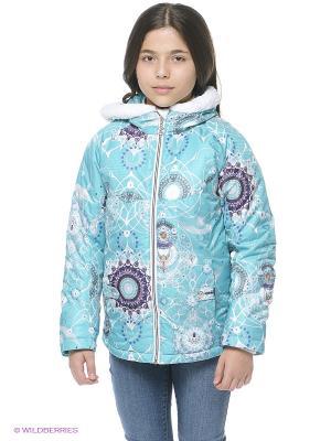 Куртка Stayer. Цвет: бирюзовый, серый, фиолетовый, белый