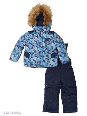 Комплект для мальчика Rusland. Цвет: голубой