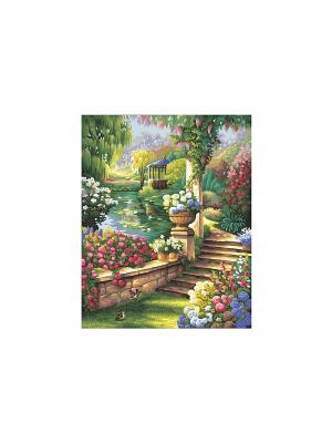 40х50 см, Райский сад, 6/6 Schipper. Цвет: зеленый