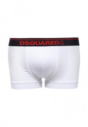 Трусы Dsquared Underwear. Цвет: белый