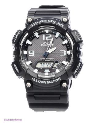 Часы Casio AQ-S810W-1A. Цвет: черный
