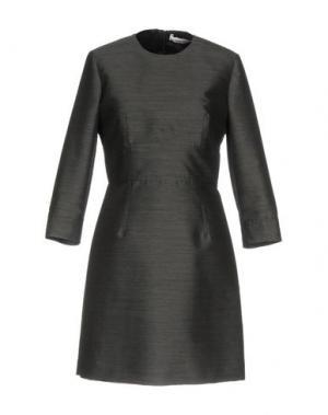 Короткое платье MAURO GRIFONI. Цвет: свинцово-серый