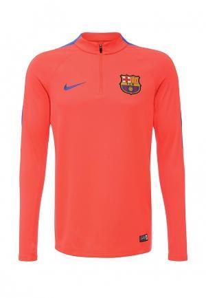 Лонгслив спортивный Nike. Цвет: розовый