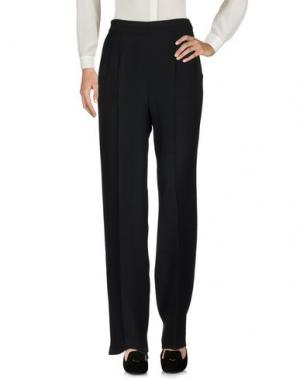 Повседневные брюки TOMASO. Цвет: черный