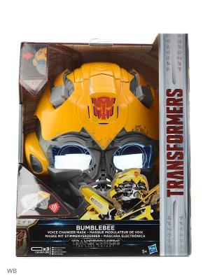 Электронная маска Трансформеров Transformers. Цвет: желтый