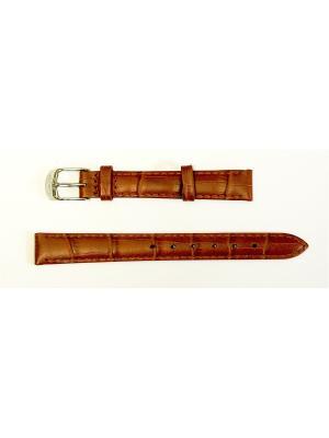 Ремень для часов .им.АЛЛИГАТОРА.14 мм. J.A. Willson. Цвет: коричневый