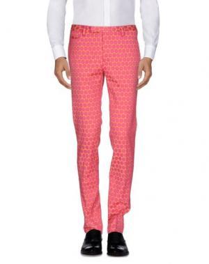 Повседневные брюки BRIAN DALES. Цвет: светло-фиолетовый