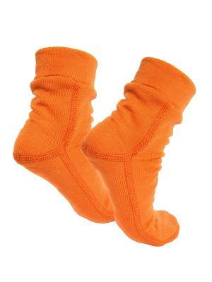 Носки Polarwolf Private. Цвет: оранжевый