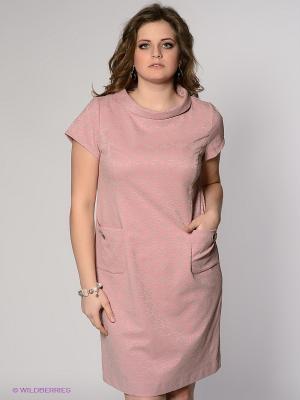 Платье Classic Style. Цвет: бледно-розовый