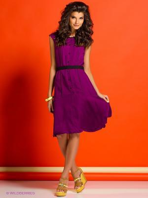 Платье Colambetta. Цвет: фиолетовый