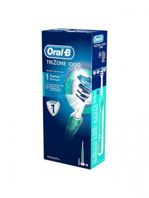 Электрическая зубная щетка 1000/D20.523.1 TriZone (6/504) Oral-B. Цвет: бирюзовый, белый