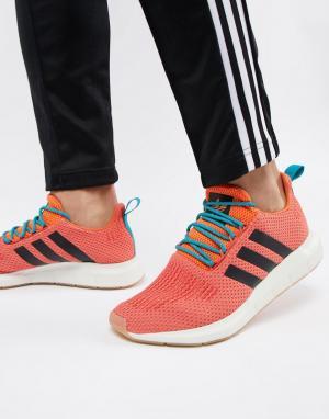 Adidas Originals Оранжевые кроссовки Swift Run Summer CQ3086. Цвет: оранжевый