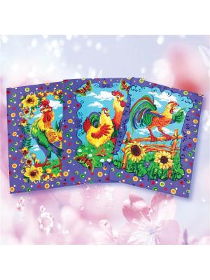 Комплект полотенец ZLATA KORUNKA. Цвет: фиолетовый