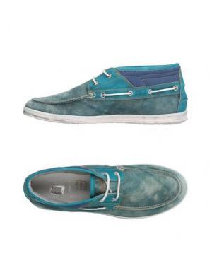 Высокие кеды и кроссовки MONOCROM. Цвет: грифельно-синий