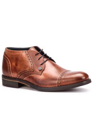 Ботинки Otto Kern. Цвет: коричневый