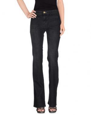Джинсовые брюки SHINE. Цвет: стальной серый