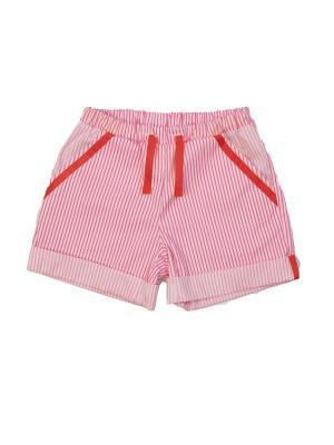 Шорты VEAS. Цвет: розовый