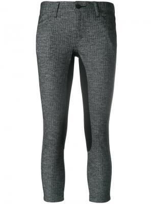 Укороченные брюки с панельным дизайном Junya Watanabe Comme Des Garçons. Цвет: чёрный