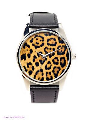 Часы Mitya Veselkov. Цвет: черный, рыжий