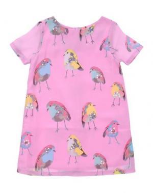 Платье BEETLEJUICE. Цвет: розовый