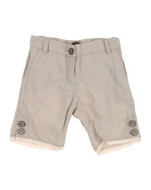 Повседневные шорты MANILA GRACE. Цвет: бежевый