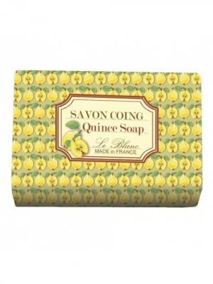 Косметическое мыло в картонной коробке Айва 100гр. Le Blanc.. Цвет: желтый