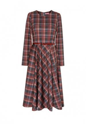Платье Виреле. Цвет: разноцветный