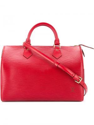 Сумка Speedy 30 Louis Vuitton Vintage. Цвет: красный