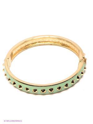 Браслет Lovely Jewelry. Цвет: салатовый, золотистый