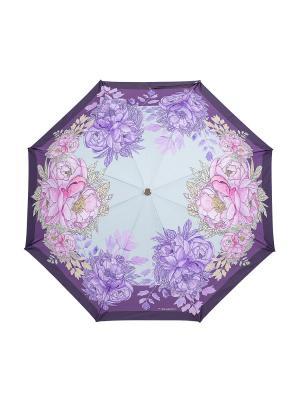 Зонт Slava Zaitsev. Цвет: фиолетовый, розовый, салатовый