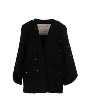 Пальто SHIRTAPORTER. Цвет: черный